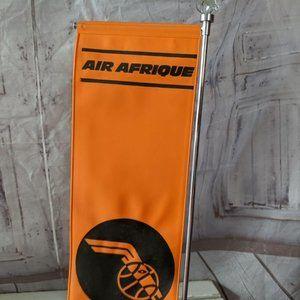 vintage Air afrique Accents - vintage Air afrique Africa airlines flag travel ag